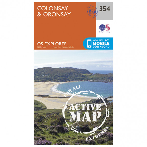 Ordnance Survey - Colonsay / Oronsay Waterproof EXPL354 - Wanderkarte