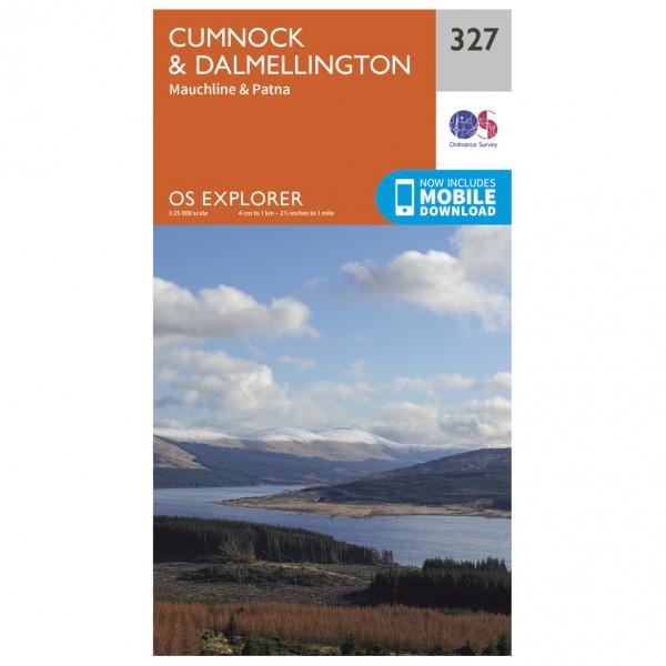 Ordnance Survey - Cumnock / Dalmellington EXP327 - Wanderkarte