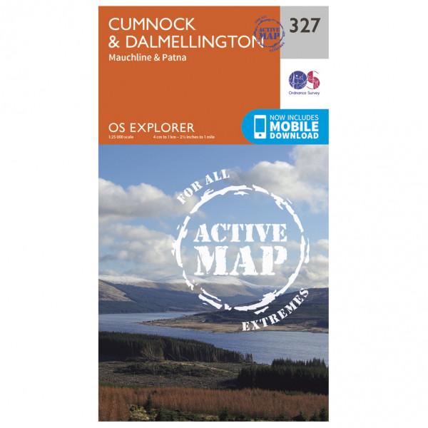 Ordnance Survey - Cumnock / Dalmellington Waterproof - Vandringskartor
