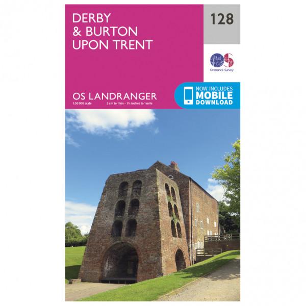 Ordnance Survey - Derby / Burton Upon Trent - Vandringskartor