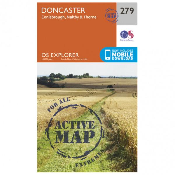 Ordnance Survey - Doncaster Waterproof - Wandelkaarten