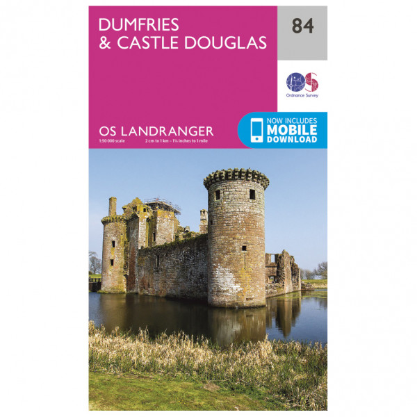 Ordnance Survey - Dumfries / Castle Douglas - Wandelkaart