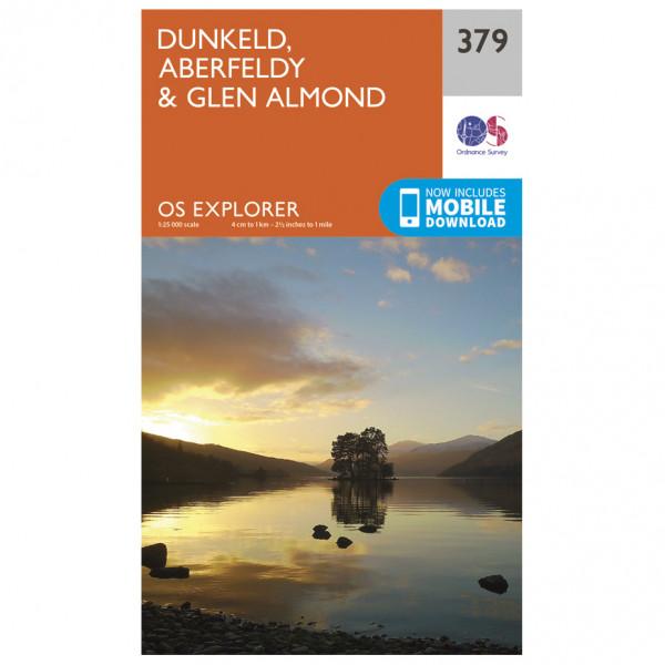 Ordnance Survey - Dunkeld / Aberfeldy / Glen Almond - Vandringskartor