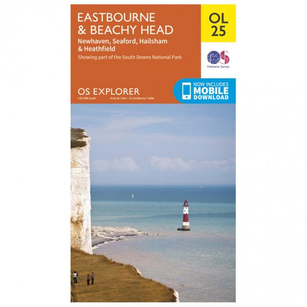 Ordnance Survey - Eastbourne / Beachy Head Outdoor - Hiking map