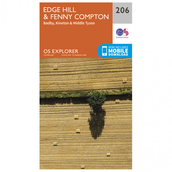 Ordnance Survey - Edge Hill / Fenny Compton - Turkart