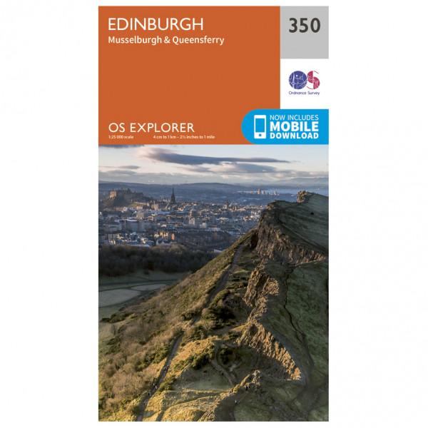 Ordnance Survey - Edinburgh Explorer - Vandrekort