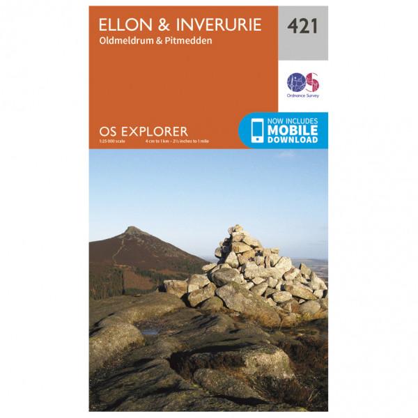 Ordnance Survey - Ellon / Inverurie - Wandelkaarten