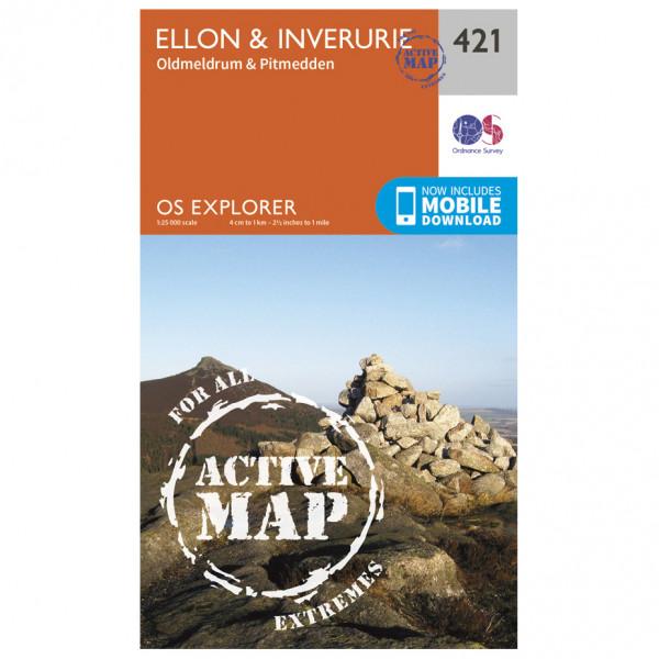 Ordnance Survey - Ellon / Inverurie Waterproof - Turkart