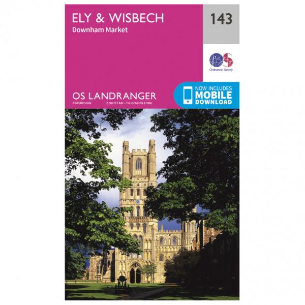 Ordnance Survey - Ely / Wisbech - Vandringskartor