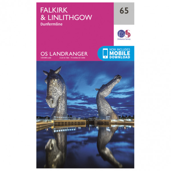 Ordnance Survey - Falkirk / Linlithgow - Hiking map