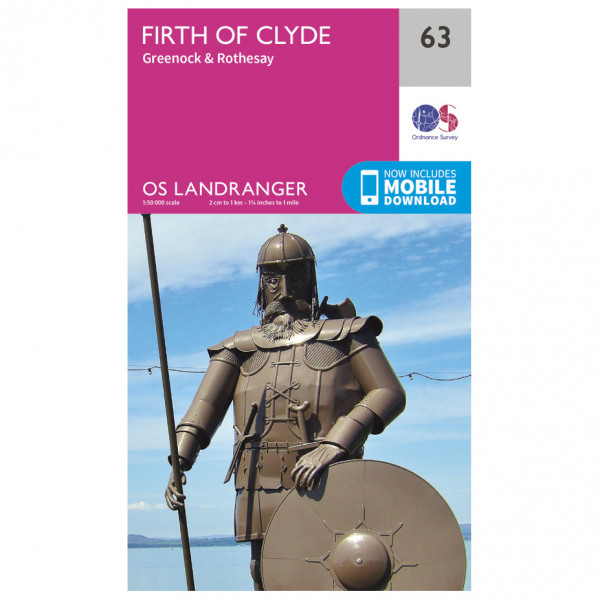 Ordnance Survey - Firth Of Clyde - Mapa de senderos