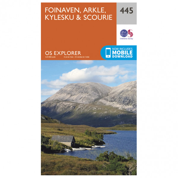 Ordnance Survey - Foinaven / Arkle / Kylesku / Scourie - Hiking map