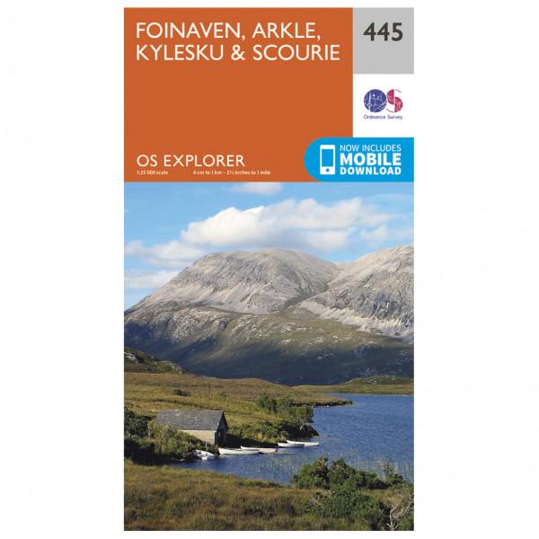 Ordnance Survey - Foinaven / Arkle / Kylesku / Scourie - Vandringskartor