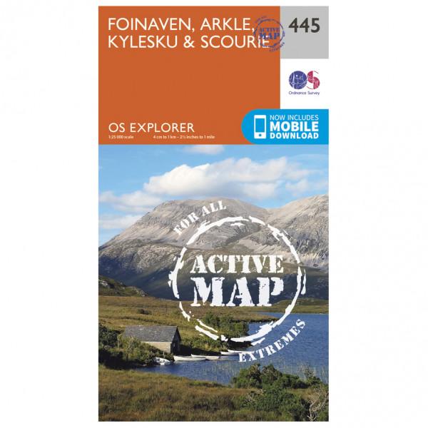 Ordnance Survey - Foinaven / Arkle / Kylesku Waterproof - Hiking map