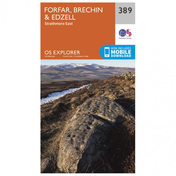 Ordnance Survey - Forfar / Brechin / Edzell - Vaelluskartat