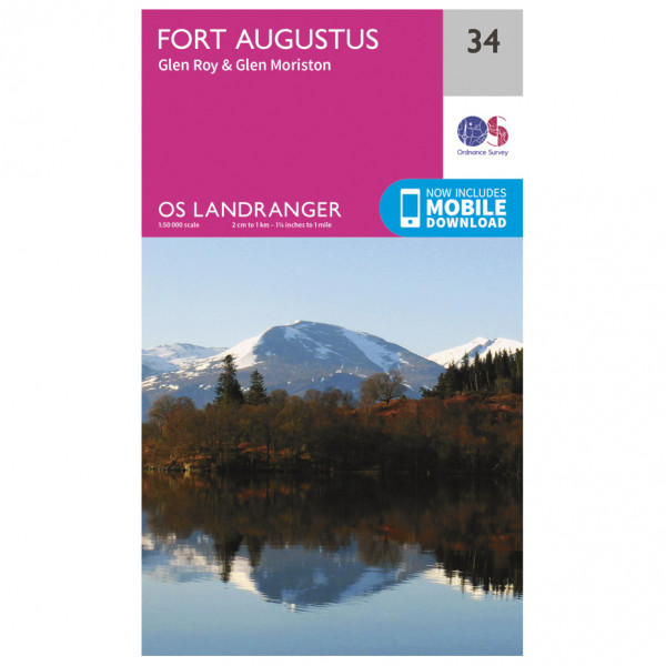 Ordnance Survey - Fort Augustus - Hiking map
