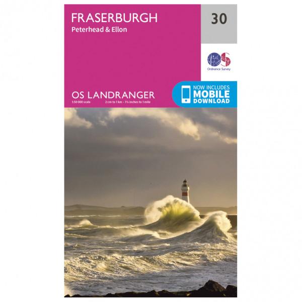 Ordnance Survey - Fraserburgh - Turkart