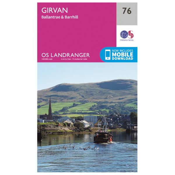 Ordnance Survey - Girvan - Vaelluskartat