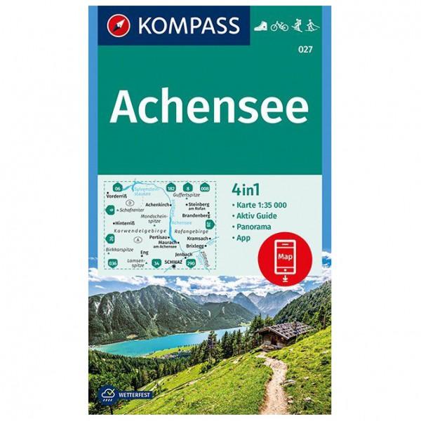 Kompass - Achensee - Wanderkarte