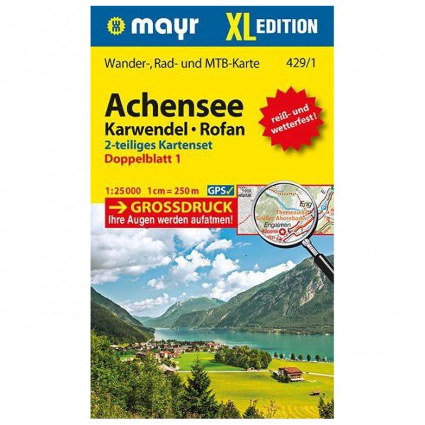 Kompass - Achensee, Karwendel, Rofan XL (2-Karten-Set) - Vandringskartor