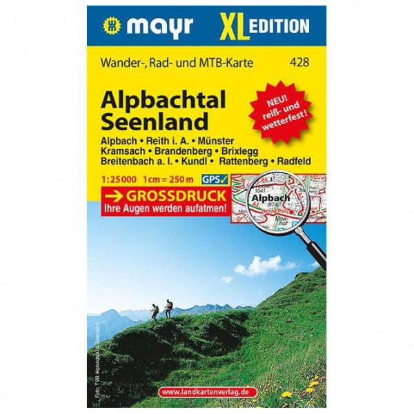 Kompass - Alpbachtal - Seenland XL - Wanderkarte