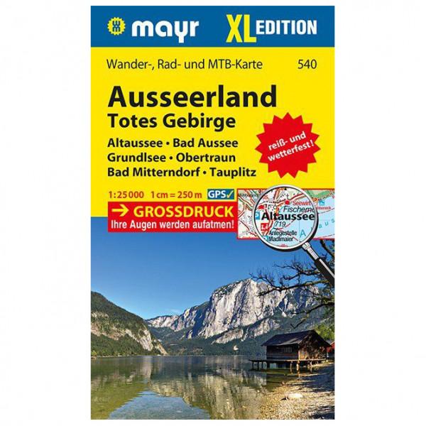 Kompass - Ausseerland, Totes Gebirge XL - Vandrekort