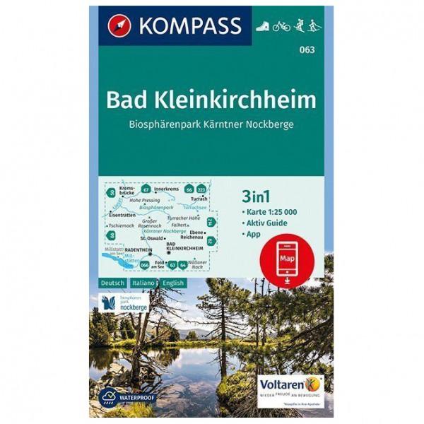 Kompass - Bad Kleinkirchheim, Biosphärenpark Kärntner - Wandelkaarten