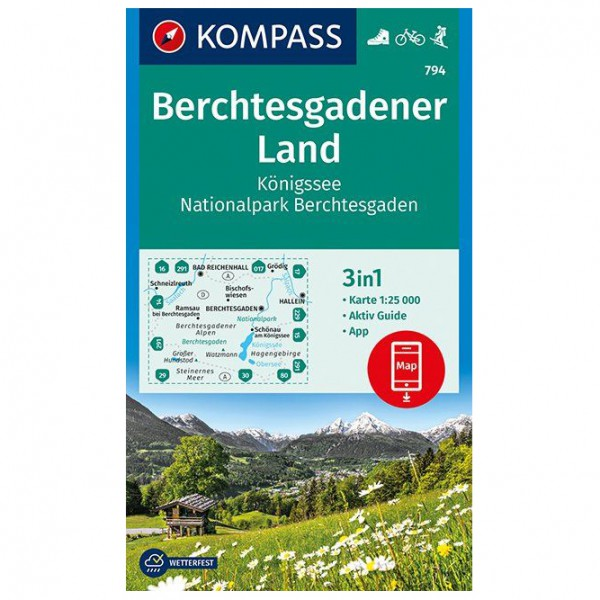 Kompass - Berchtesgadener Land Königssee - Vandringskartor