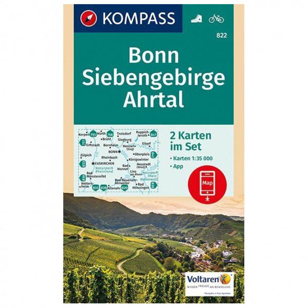 Kompass - Bonn, Siebengebirge, Ahrtal - Turkart
