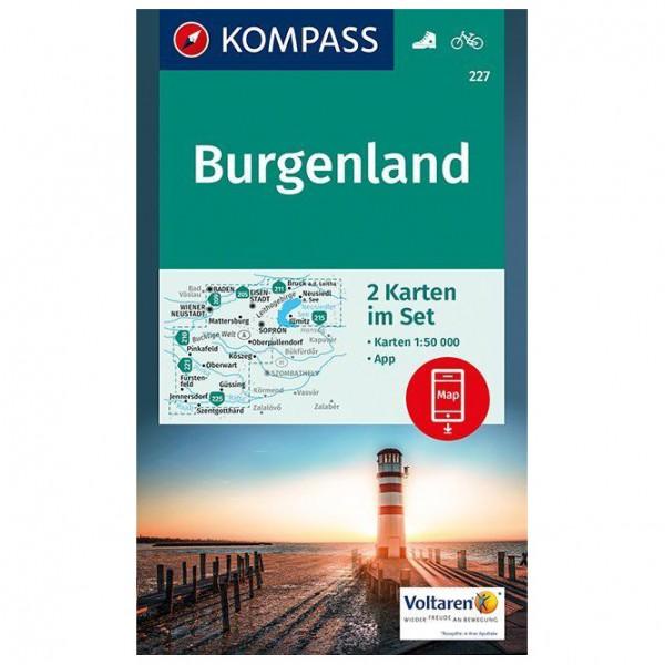 Kompass - Burgenland - Carte de randonnée