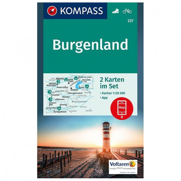 Kompass - Burgenland - Turkart