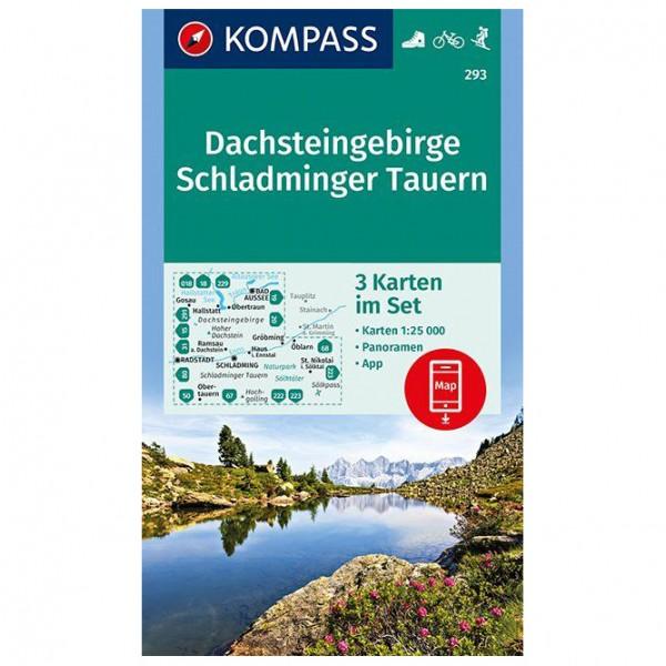 Kompass - Dachsteingebirge, Schladminger Tauern - Hiking map