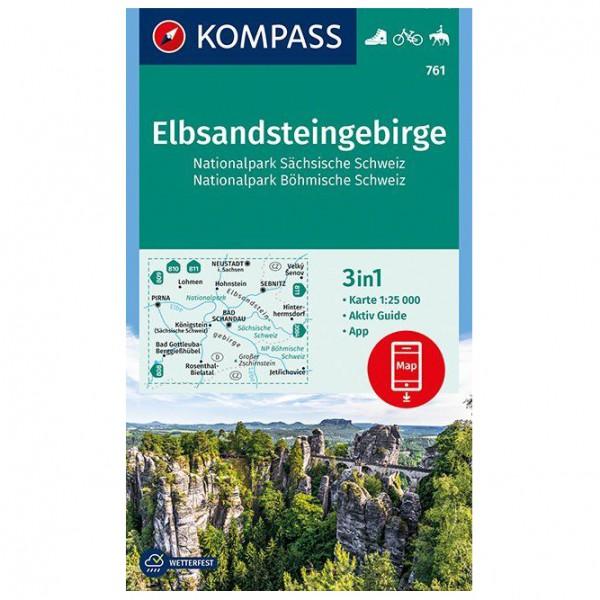 Kompass - Elbsandsteingebirge - Turkart