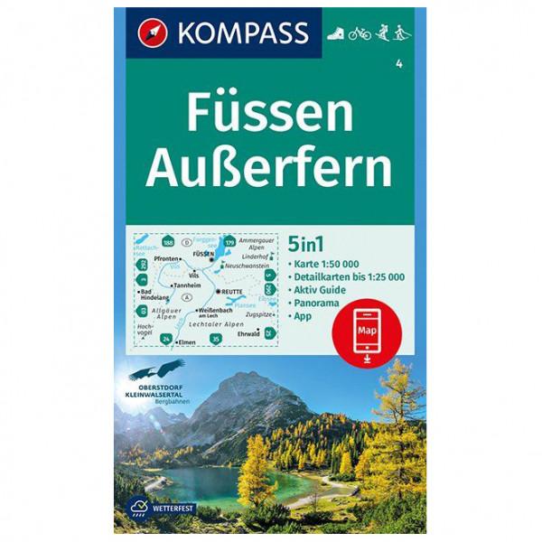 Kompass - Füssen, Außerfern - Vandrekort
