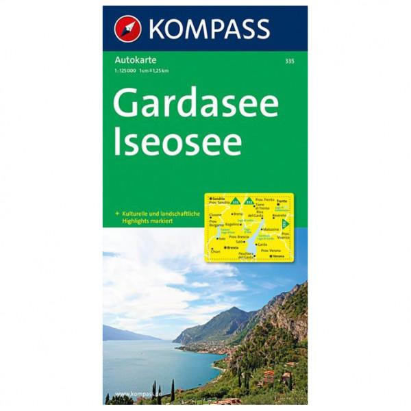 Kompass - Gardasee - Iseosee - Wanderkarte