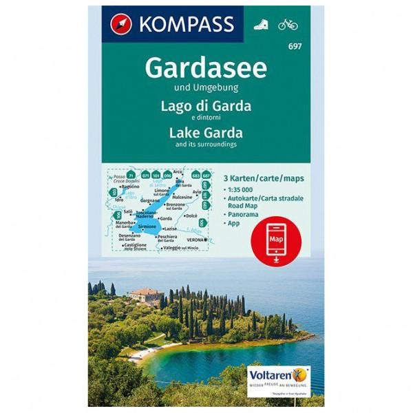 Kompass - Gardasee und Umgebung - Carte de randonnée