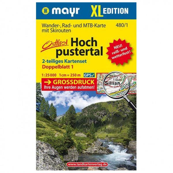 Hochpustertal XL (2-Karten-Set) - Hiking map