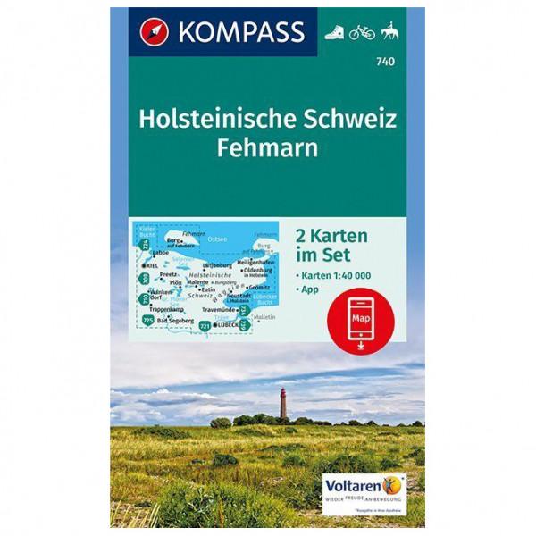 Kompass - Holsteinische Schweiz, Fehmarn - Vandringskartor