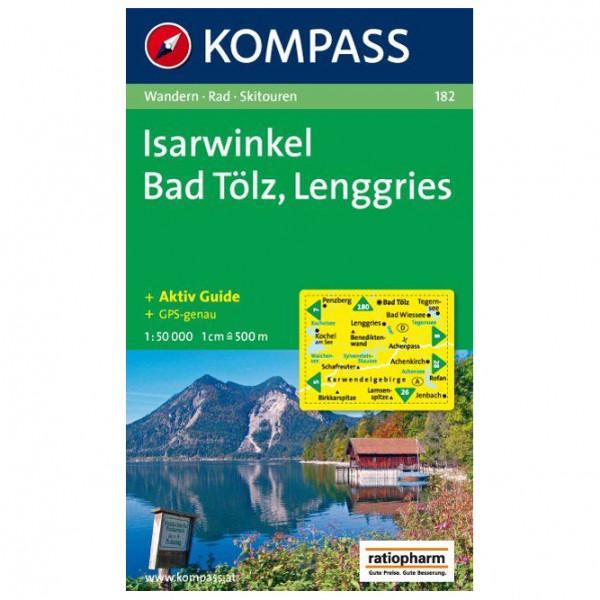 Kompass - Isarwinkel - Bad Tölz - Lenggries - Vaelluskartat
