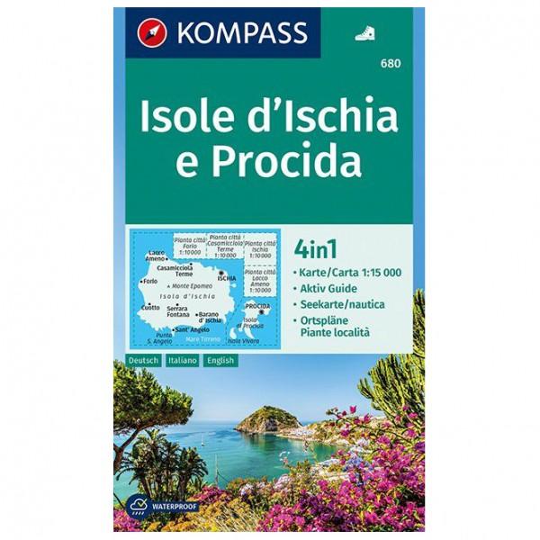 Kompass - Isole d' Ischia e Procida - Vandrekort