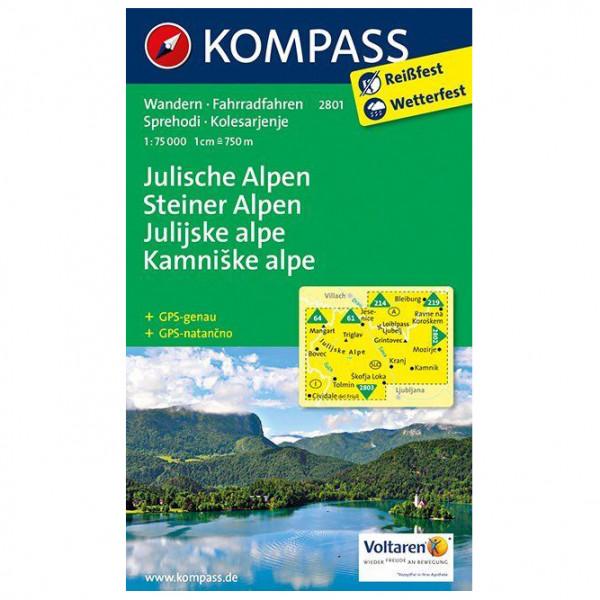 Kompass - Julische Alpen/Julijske alpe - Hiking map