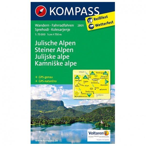 Kompass - Julische Alpen/Julijske alpe - Vandrekort