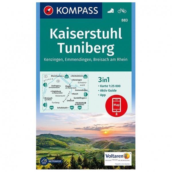 Kompass - Kaiserstuhl, Tuniberg, Kenzingen, Emmendingen - Vandringskartor