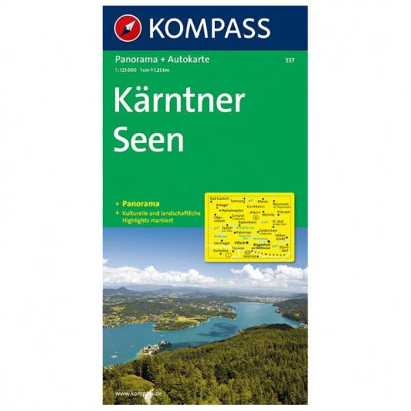 Kompass - Kärntner Seen - I Laghi della Carinzia - Vandrekort