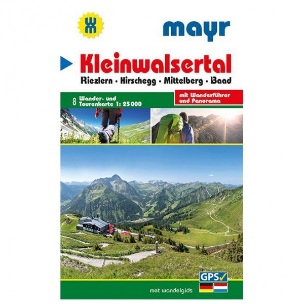 Kompass - Kleinwalsertal Karte - Hiking map