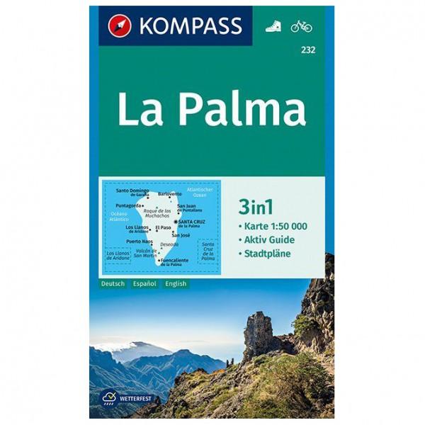 Kompass - La Palma Karte - Hiking map