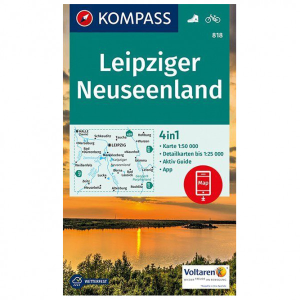 Kompass - Leipziger Neuseenland - Hiking map