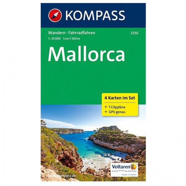 Kompass - Mallorca Karte - Wandelkaart