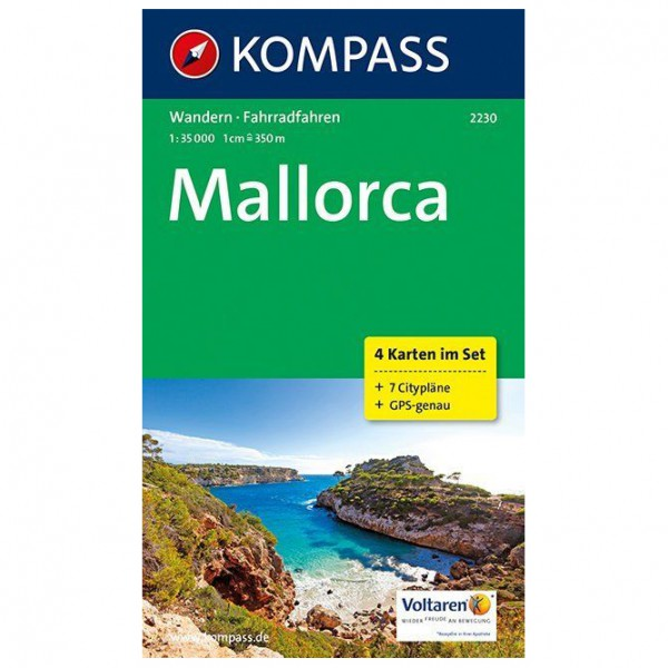 Kompass - Mallorca Karte - Wandelkaarten