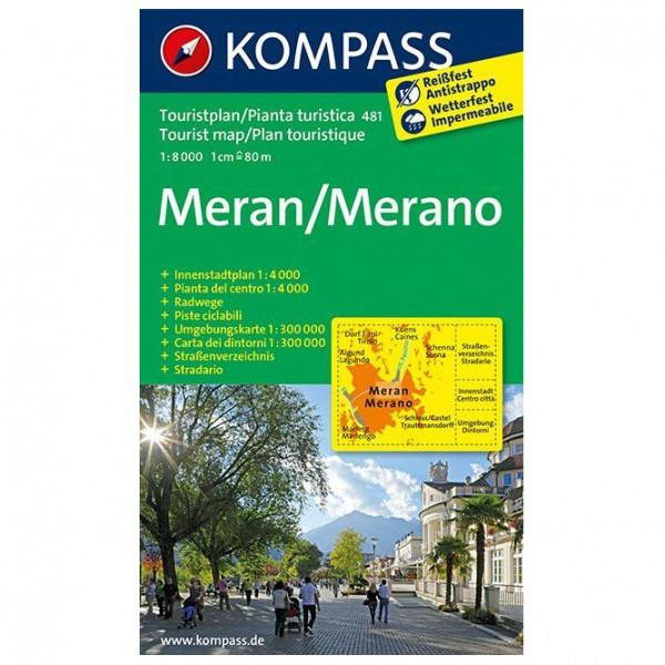 Kompass - Meran/Merano - Wanderkarte